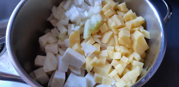 Sellerie-Crèmesüppchen - Rezept - Bild Nr. 3