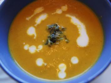 Möhrensuppe mit Ingwer und Kokosmilch - Rezept - Bild Nr. 2