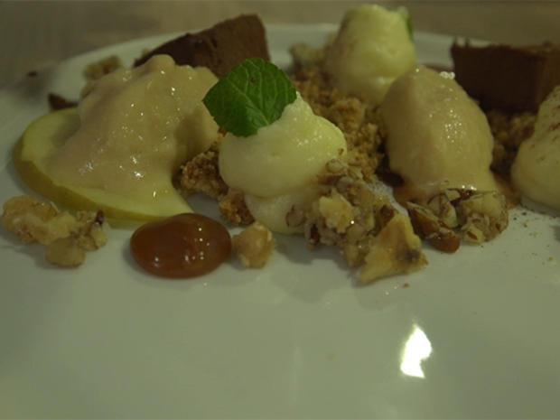 Apfel   Zimt   Schokolade   Salzkaramell   Nüsse - Rezept - Bild Nr. 3
