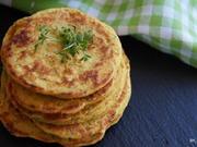 Pikante Kichererbsen-Pfannkuchen - Rezept - Bild Nr. 2