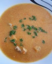 Kartoffel-Karotten-Suppe mit Hähnchen - Rezept - Bild Nr. 2