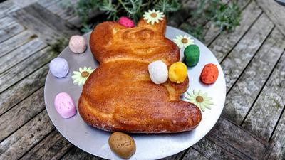 Einfacher Osterhasen - Kuchen - kochbar Challenge 4.0 (April 2020) - Rezept - Bild Nr. 15