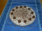 Cappuccino-Frischkäse-Torte - Rezept