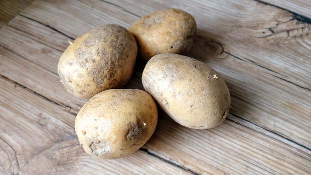 Rumpsteaks mit Kartoffel - Erbsenpüree - Rezept - Bild Nr. 5