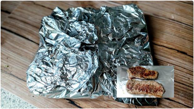 Rumpsteaks mit Kartoffel - Erbsenpüree - Rezept - Bild Nr. 20