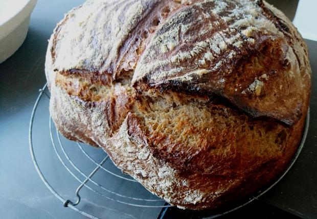 Kartoffel-Dinkel Vollkornbrot - Rezept - Bild Nr. 2