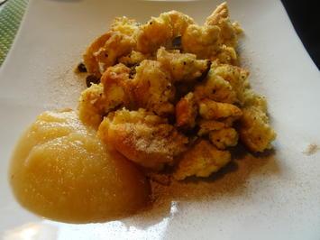 Mandel-Schmarrn mit Apfelmus - Rezept - Bild Nr. 2