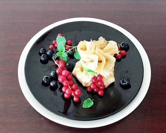 Gefüllte Pfannkuchen-Säckchen - Rezept - Bild Nr. 5