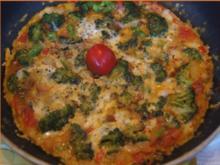 Herzhaftes Brokkoli-Tomaten-Omelett - Rezept - Bild Nr. 2