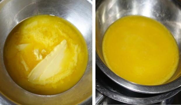 Gedeckter Apfelkuchen mit Walnüssen und Kokosraspeln - Rezept - Bild Nr. 3