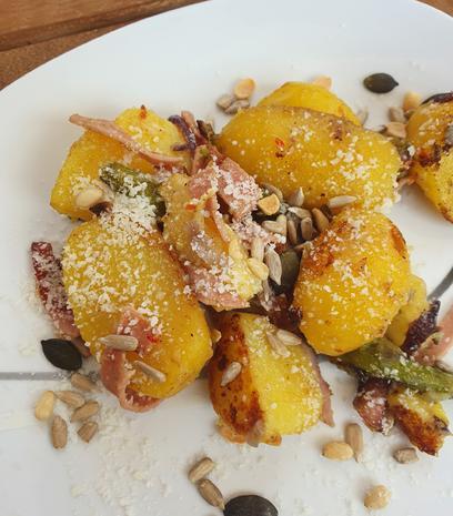 Spargel-Kartoffel-Pfanne - Rezept - Bild Nr. 2