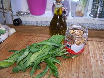 Bärlauch -Walnuss- Pesto - Rezept - Bild Nr. 2