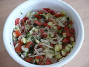 Türkischer Tomatensalat - Rezept - Bild Nr. 2