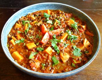 Beluga Linsen – Süßkartoffel-Curry - Rezept - Bild Nr. 10277