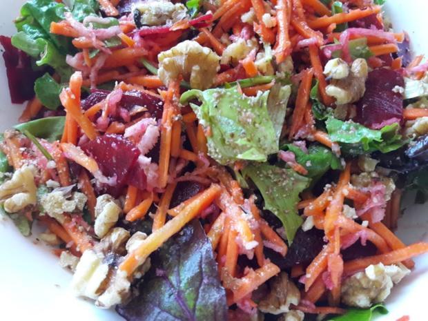 Rote Beete Salat - Rezept - Bild Nr. 9