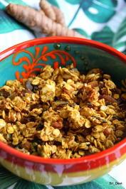 Frühstück: Kurkuma-Honig-Granola - Rezept - Bild Nr. 2