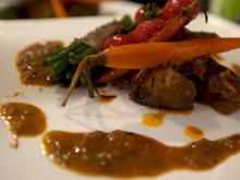 Lammragout mit Curry und glasiertem Gemüse - Rezept - Bild Nr. 2