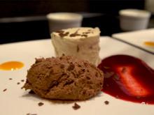 Vanilleparfait mit Mousse au Chocolat - Rezept - Bild Nr. 2