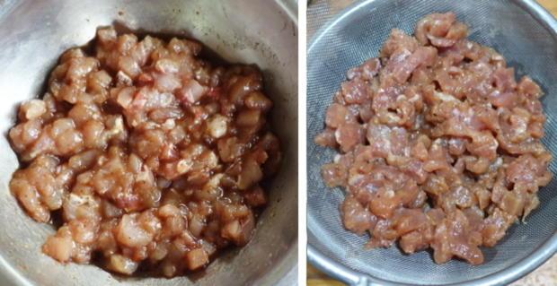 Zweigesichtige Nudeln mit Schweinefleisch - Rezept - Bild Nr. 5