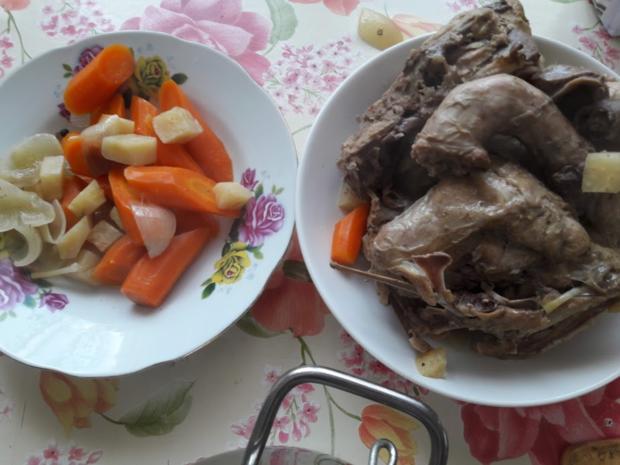 Hühnerbrühe - Nudelsuppe - Rezept - Bild Nr. 10