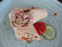 Knoblauch-Wrap mit Thunfisch - Rezept - Bild Nr. 2