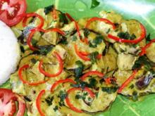 Auberginen in würziger Kokosnuss-Sauce 'Udayana' - Rezept - Bild Nr. 2