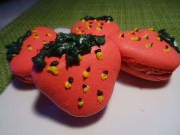 Erdbeer-Macarons - Rezept - Bild Nr. 2