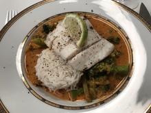 Barramundi mit rotem Curry und Gemüse - Rezept - Bild Nr. 2