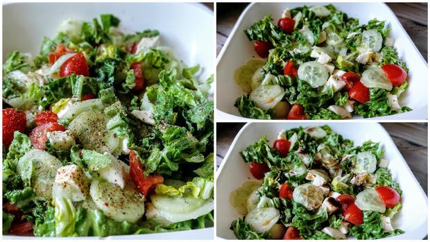 Bunter Salat - Rezept - Bild Nr. 6