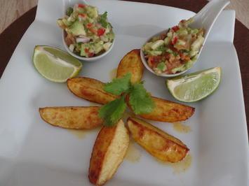 Kartoffelecken mit Guacamole - Rezept - Bild Nr. 10334