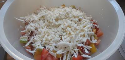 Rezept: Schopska-Salat