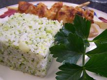 Broccolireis mit Hühnchenspiess... - Rezept - Bild Nr. 3