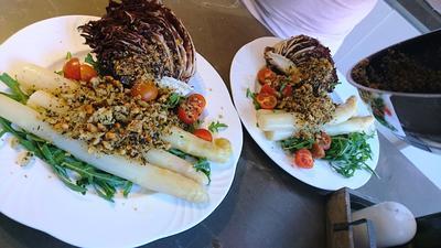 Gegrillter Salat mit Gröstl - Rezept - Bild Nr. 2