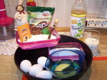 Quarkkuchen mit Haselnuss-Aprikosen - Rezept - Bild Nr. 4