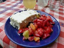 Erdbeer-Salat mit Orangenlikör-Dressing - Rezept - Bild Nr. 10395