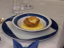 Blätterteig-Apfeltarte mit Karamell-Royal und Calvados-Sabayone - Rezept - Bild Nr. 2