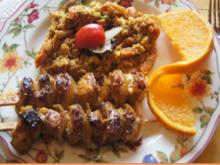 Hähnchenspieße mit warmen Linsensalat - Rezept - Bild Nr. 2