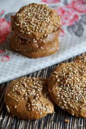 Rezept: Plätzchen: Orientalische Sesam-Kekse