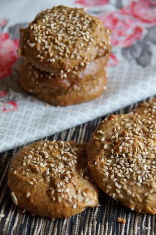 Plätzchen: Orientalische Sesam-Kekse - Rezept - Bild Nr. 2