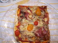 Pizza schnelle art - Rezept - Bild Nr. 10370
