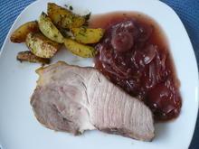 Salzbraten mit Zwiebelsoße - Rezept - Bild Nr. 2