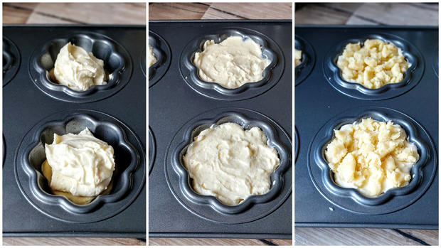 Käsekuchen  - Streusel - Muffins - Rezept - Bild Nr. 11