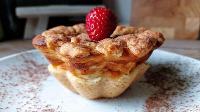 Rezept: Käsekuchen  - Streusel - Muffins