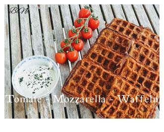 Rezept: BiNe` S TOMATE - MOZZARELLA - WAFFELN