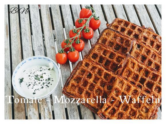 BiNe` S TOMATE - MOZZARELLA - WAFFELN - Rezept - Bild Nr. 4
