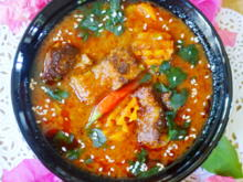 Rotes Rindfleisch-Curry auf thailändische Art - Rezept - Bild Nr. 2