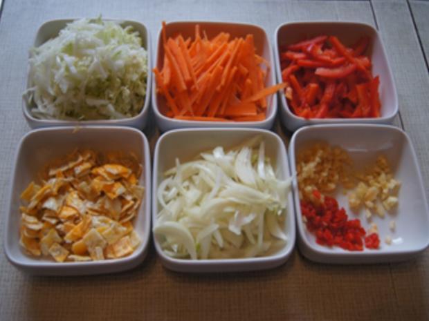 Asiatische Nudeln mit Rindfleisch - Rezept - Bild Nr. 10407