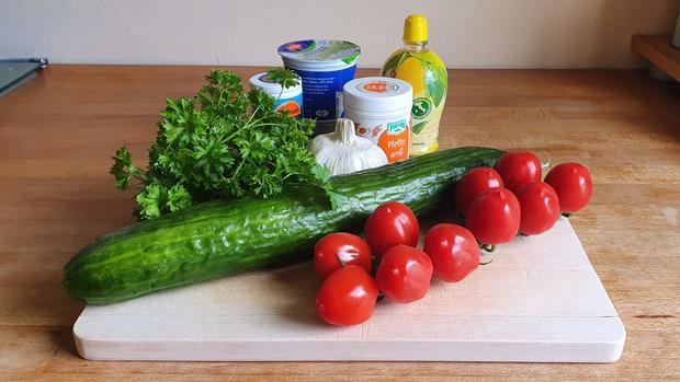 Teriyaki Putenspießchen mit Gurkensalat - Rezept - Bild Nr. 4