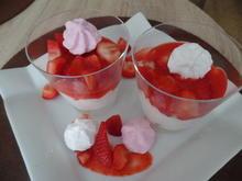 Erdbeer-Sahne -Dessert - Rezept - Bild Nr. 10375