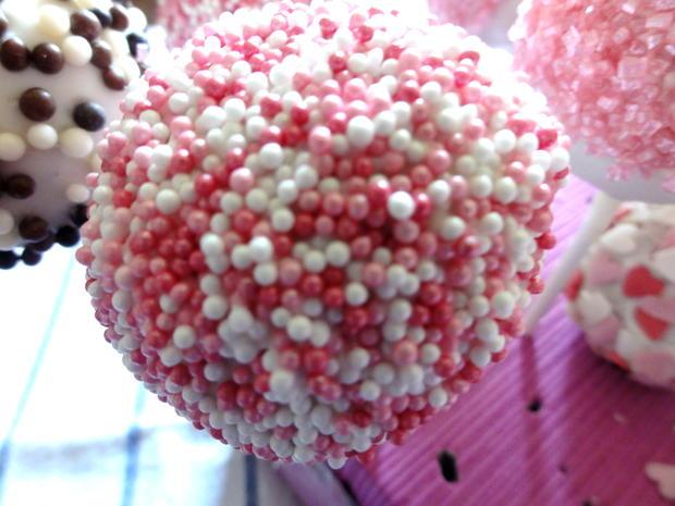 Biskuit:   CAKE ~ POPS (kleine Kuchen am Stiel) - Rezept - Bild Nr. 5